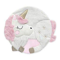 Lambs & Ivy® Unicorn Play Mat in Pink/White
