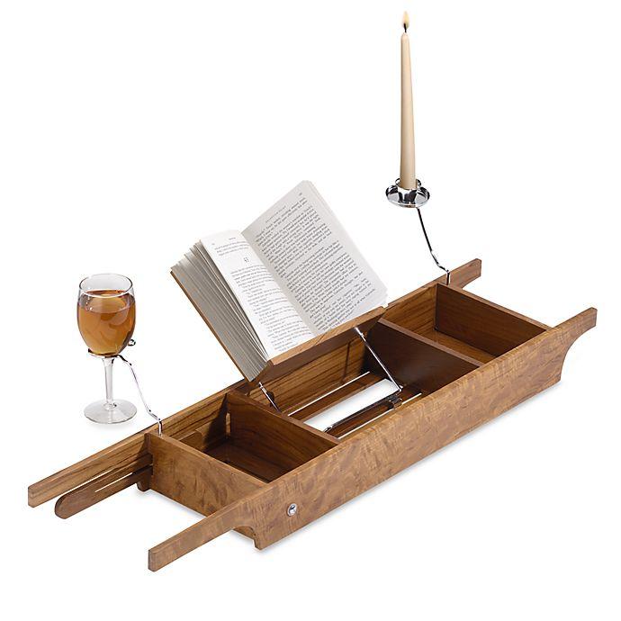 Teak Cross Tub Caddy Bed Bath Beyond