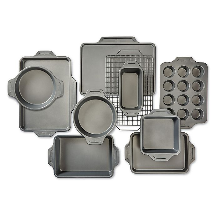 Alternate image 1 for All-Clad Pro-Release Bakeware Nonstick 10-Piece Bakeware Set
