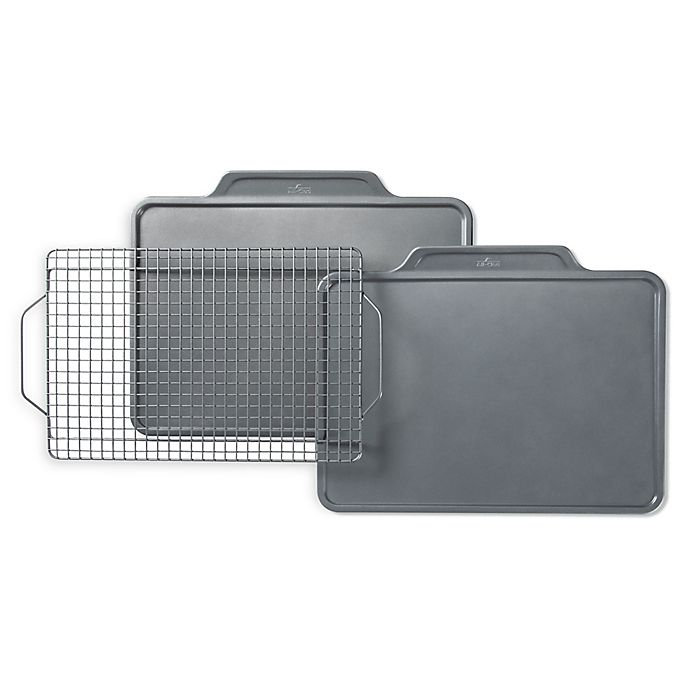 Alternate image 1 for All-Clad Pro-Release Bakeware Nonstick 3-Piece Bakeware Set
