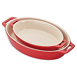 Staub® Ceramics 2-Piece Oval Baking Dish Set in Cherry