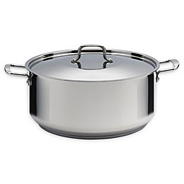 SALT™ 20 qt. Stainless Steel Covered Wide Dutch Oven