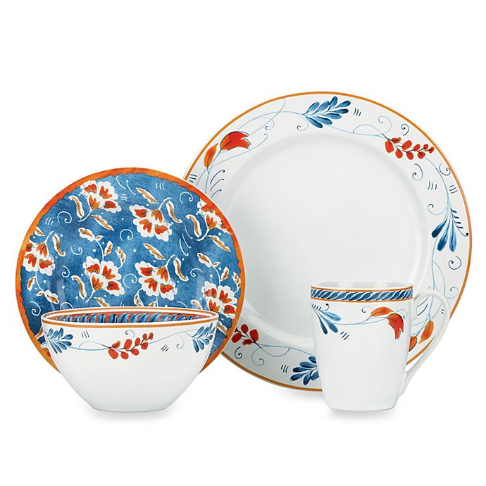 Alternate image 1 for Kathy Ireland Home by Gorham Spanish Botanica Dinnerware Collection