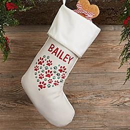 Paws On My Heart Personalized Christmas Stocking Collection