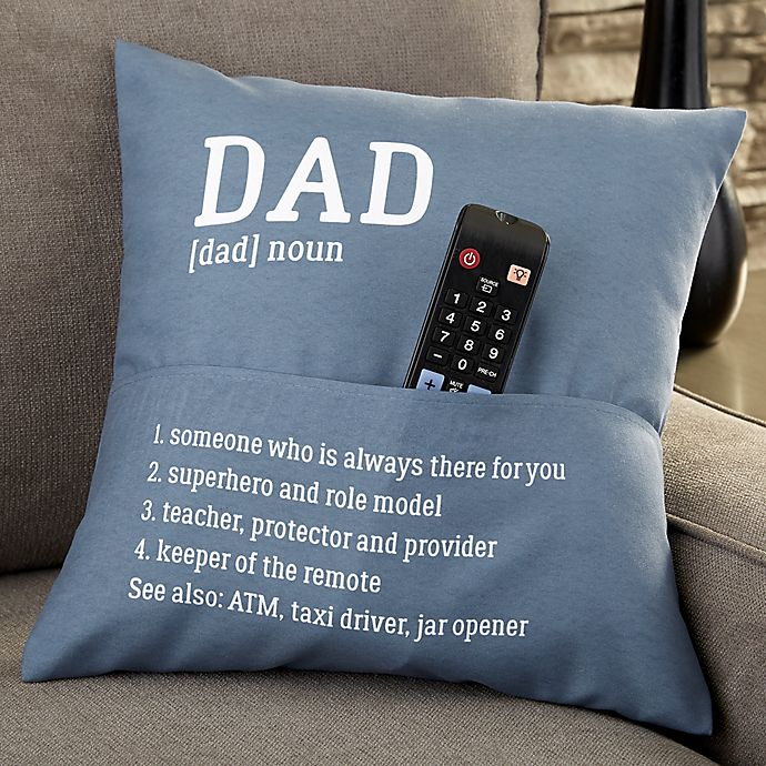 Alternate image 1 for Definition of Him Personalized Pocket Pillow