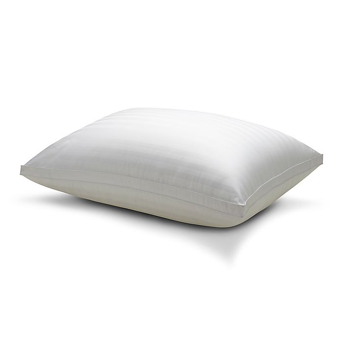 Alternate image 1 for Therapedic® Won't Go Flat® Back/Stomach Sleeper Memory Foam Bed Pillow