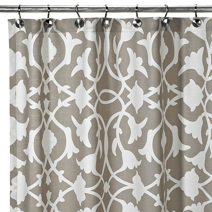 Alternate image 1 for Barbara Barry® Poetical Shower Curtain