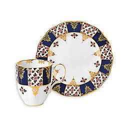 Royal Albert 100 Years 1900 Regency Blue Tea Collection