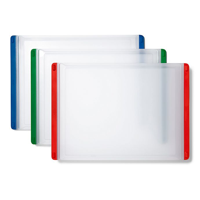 Alternate image 1 for OXO Good Grips® 3-Piece Everyday Cutting Board Set