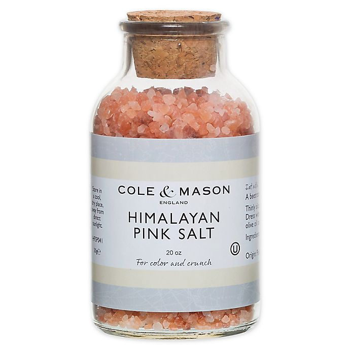 Alternate image 1 for Cole & Mason 20 oz. Pink Himalayan Salt Refill
