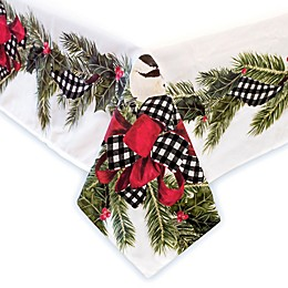 Laural Home® Christmas Trimming Table Linen Collection