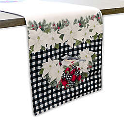 Laural Home® Christmas Trimming Runner in Red/White/Green