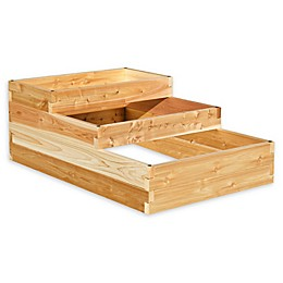 YardCraft® 4-Way Raised Garden Bed in Pine