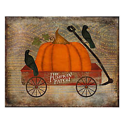 Courtside Market Fall Wagon 20-Inch x 24-Inch Gallery Art Decal