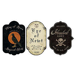 Courtside Market Vintage Halloween 18-Inch x 30-Inch Gallary Art Decals (3-Piece Set)