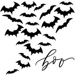Courtside Market Boo Bats 24-Inch x 24-Inch Gallery Art Decal