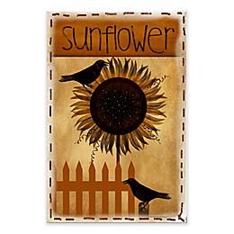Courtside Market Sunflower 18-Inch x 24-Inch Gallery Art Decal