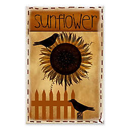 Courtside Market Sunflower 18-Inch x 24-Inch Gallery Art Decal