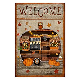 Courtside Market Camper Fall Flag 18-Inch x 24-Inch Gallery Art Decal