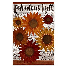 Courtside Market Fabulous Fall Flag 18-Inch x 24-Inch Gallery Art Decal