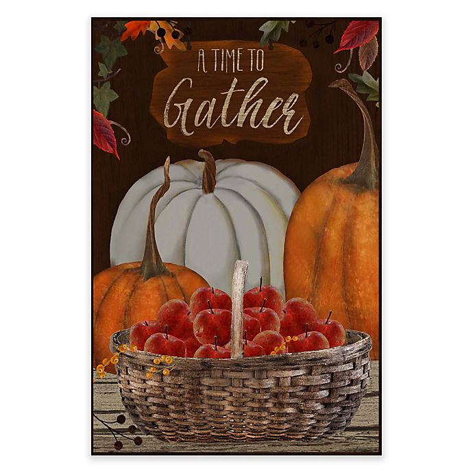 Alternate image 1 for Courtside Market Atime To Gather 18-Inch x 24-Inch Gallery Art Decal