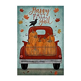 Courtside Market Fall Pick-Up Flag 18-Inch x 24-Inch Gallery Art Decal