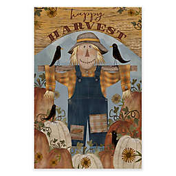 Courtside Market Happy Harvest Scarecrow 18-Inch x 24-Inch Gallery Art Decal