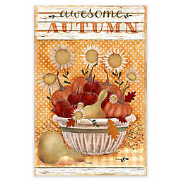Courtside Market Awesome Autumn 18-Inch x 24-Inch Gallery Art Decal