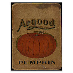 Courtside Market Vintage Pumpkin 20-Inch x 24-Inch Gallery Art Decal