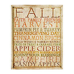 Courtside Market Fall Subway Art 20-Inch x 24-Inch Gallery Art Decal