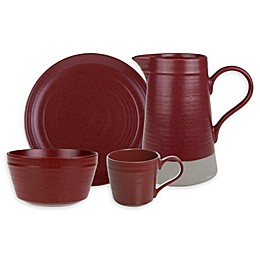 Bee & Willow™ Home Milbrook Dinnerware Collection in Barn Red