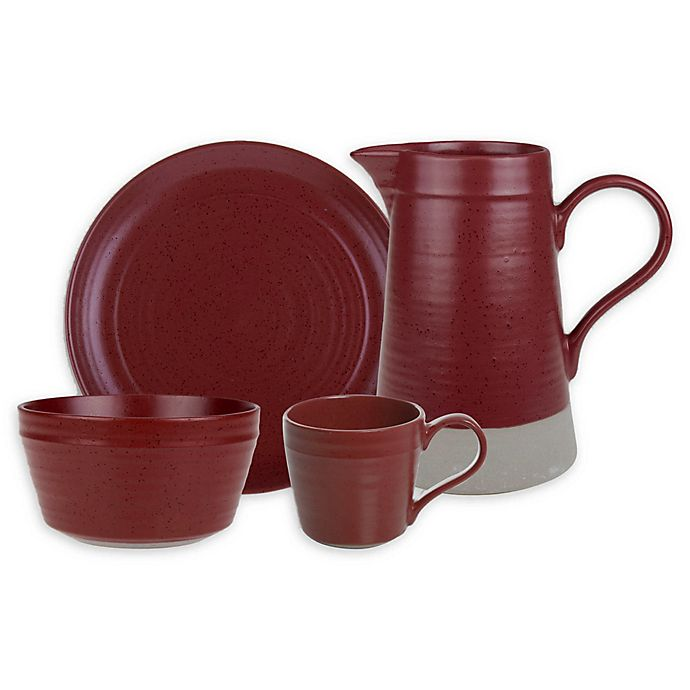 Alternate image 1 for Bee & Willow™ Home Milbrook Dinnerware Collection in Barn Red