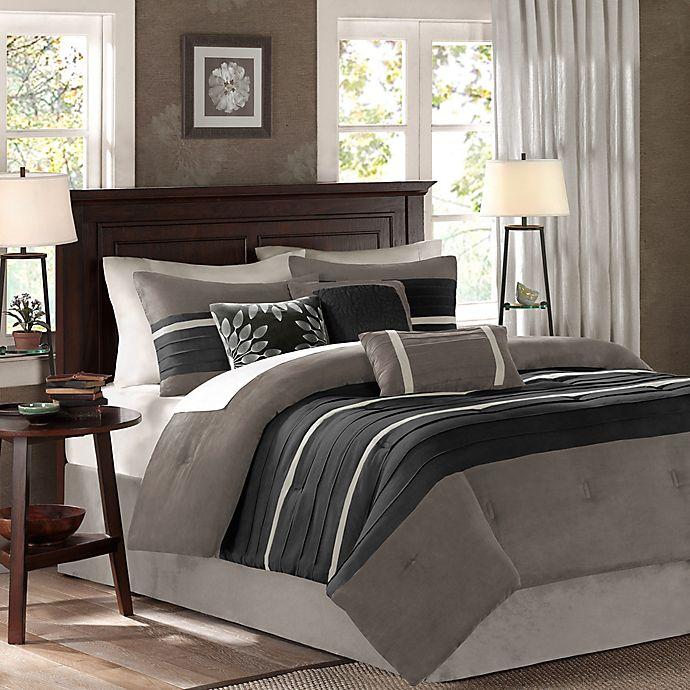 Alternate image 1 for Madison Park Palmer 7-Piece Comforter Set