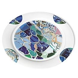Lipper Seascape 14-Inch Round Platter
