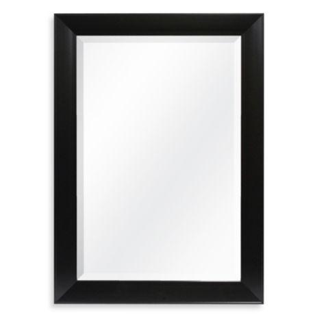 Decorative 42 25 Inch X 30 25 Inch Wall Mirror In Black