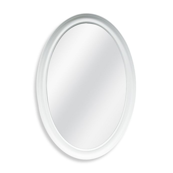 Alternate image 1 for Decorative 21-Inch x 31-Inch Oval Mirror