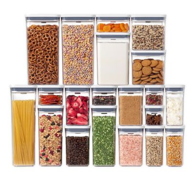 Oxo Good Grips 174 Pop 20 Piece Food Storage Container Set