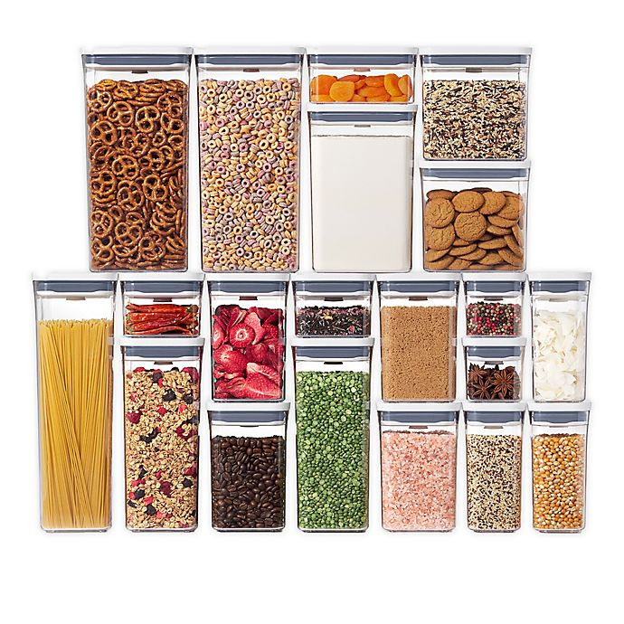 Alternate image 1 for OXO Good Grips® POP 20-Piece Food Storage Container Set