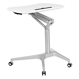 Flash Furniture Sit-Down, Stand-Up Mobile Ergonomic Desk