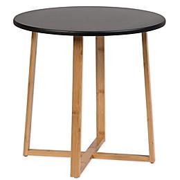 Eccostyle Contemporary Edge Bamboo End Table