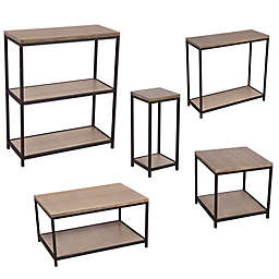 Solid Bamboo with Steel Frame Furniture Collection