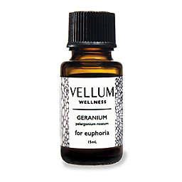 Vellum Wellness Geranium Essential Oil