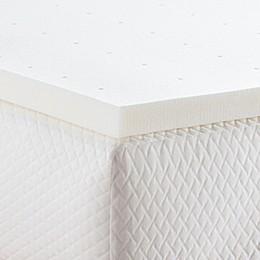 Linenspa Signature Collection™ 2-Inch Memory Foam Twin XL Mattress Topper in Yellow