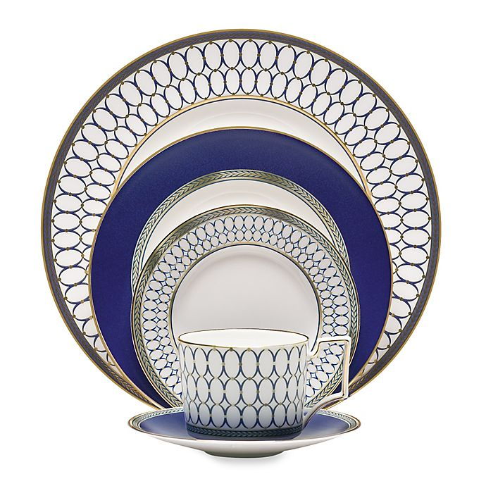 Alternate image 1 for Wedgwood® Renaissance Gold 5-Piece Place Setting
