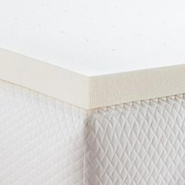 Linenspa Signature Collection™ 3-Inch Memory Foam Twin XL Mattress Topper in Yellow