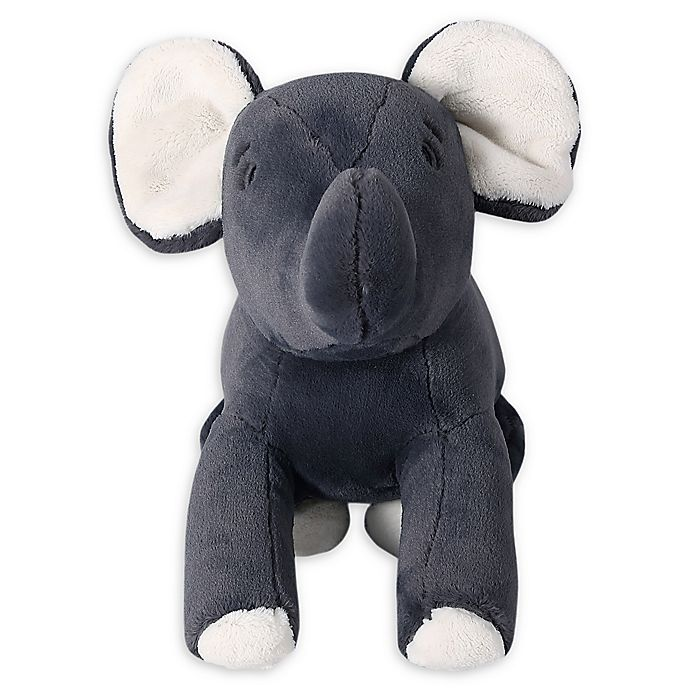 Alternate image 1 for Therapedic® Weighted Elephant Plush Toy in Grey