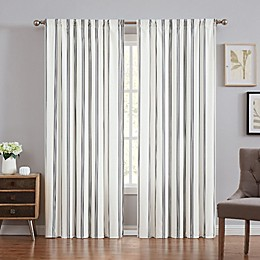 Truly Soft® Millenial Stripe 84-Inch Rod Pocket Panel Pair