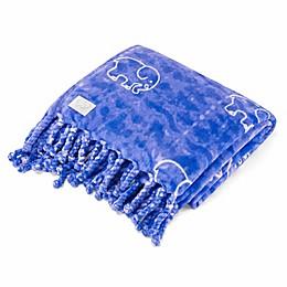 Ivory Ella® Gia Throw in Blue