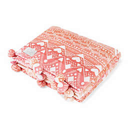 Ivory Ella® Tessie Throw in Coral
