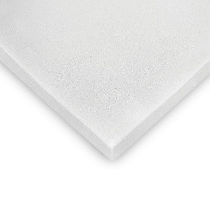 Alternate image 1 for Essentials 2-Inch Memory Foam Mattress Topper
